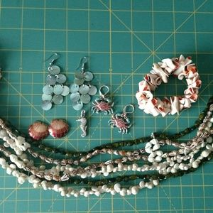 """Jewelry - Assorted jewelry """"Sea"""" collection"""